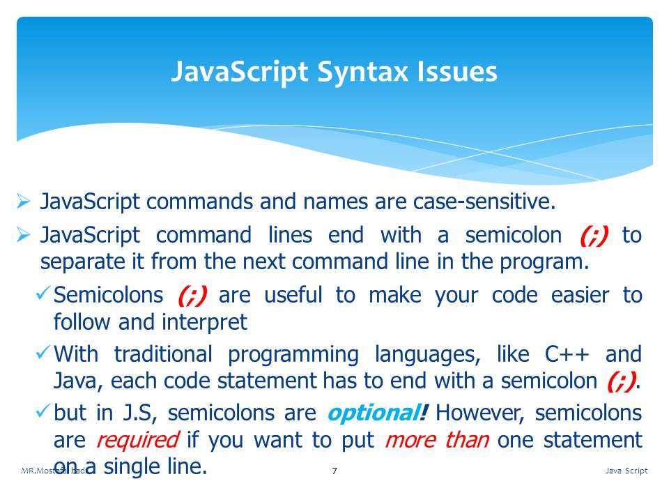 JavaScript Syntax Issues