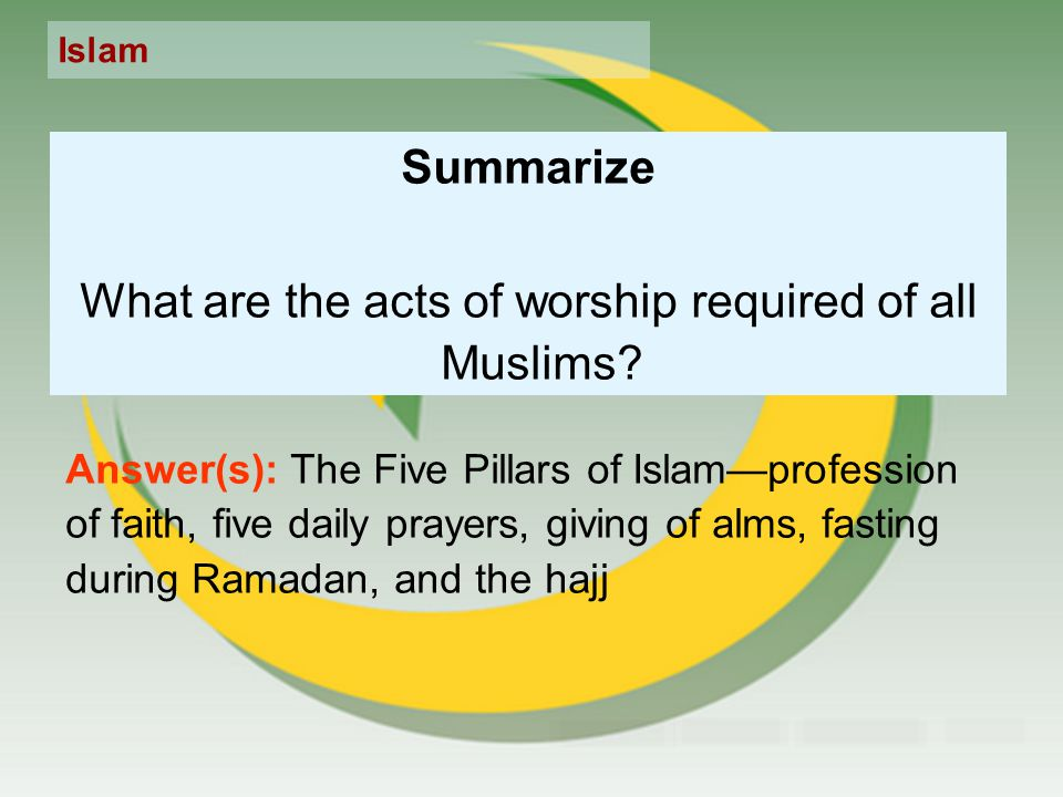 islam hajj fasting and almsgiving What are the five pillars of islam that provide a framework for a muslim's life zakat (almsgiving) in the quran in islam, fasting helps us to empathize with those less fortunate.