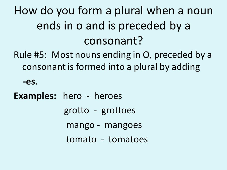 How can we make a noun plural in an easy way? - ppt video online ...