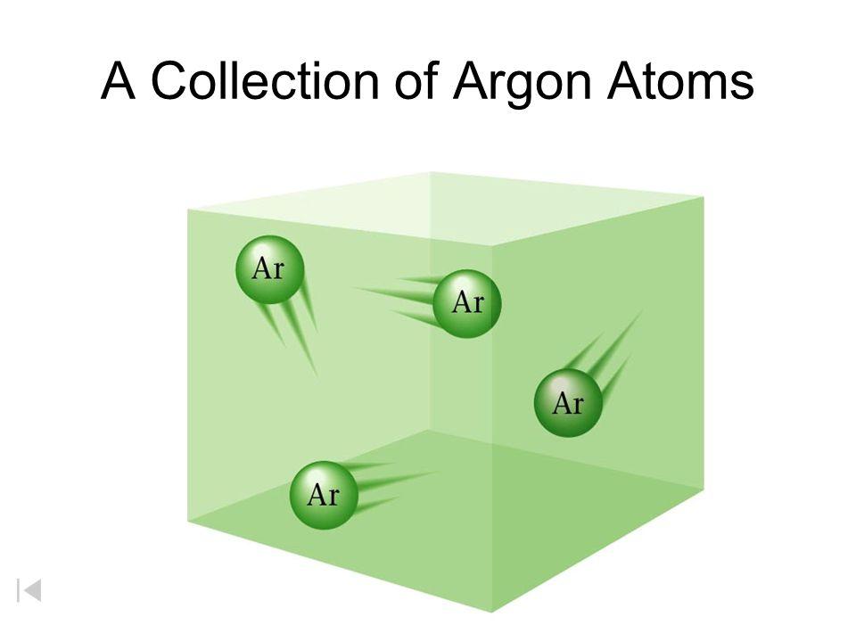 A Collection of Argon Atoms