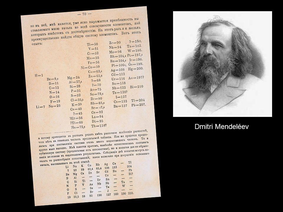 Dmitri Mendeléev