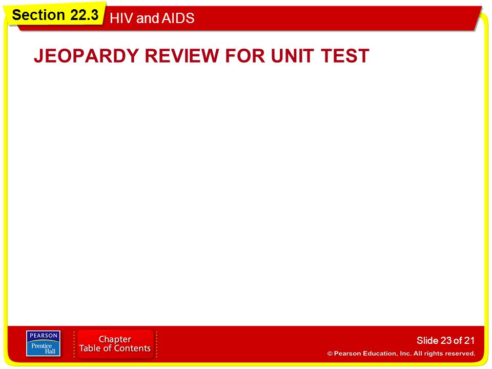 JEOPARDY REVIEW FOR UNIT TEST