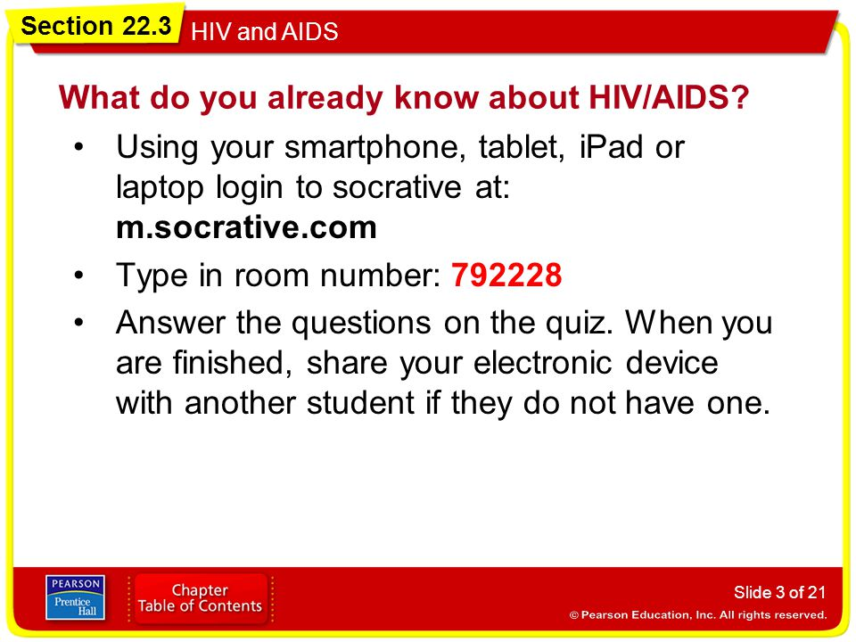 What do you already know about HIV/AIDS