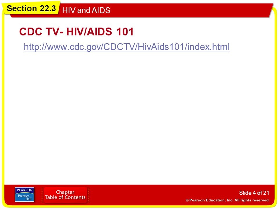CDC TV- HIV/AIDS 101