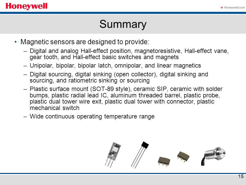 Magnetic Sensors Welcome To Honeywell S Magnetic Sensors