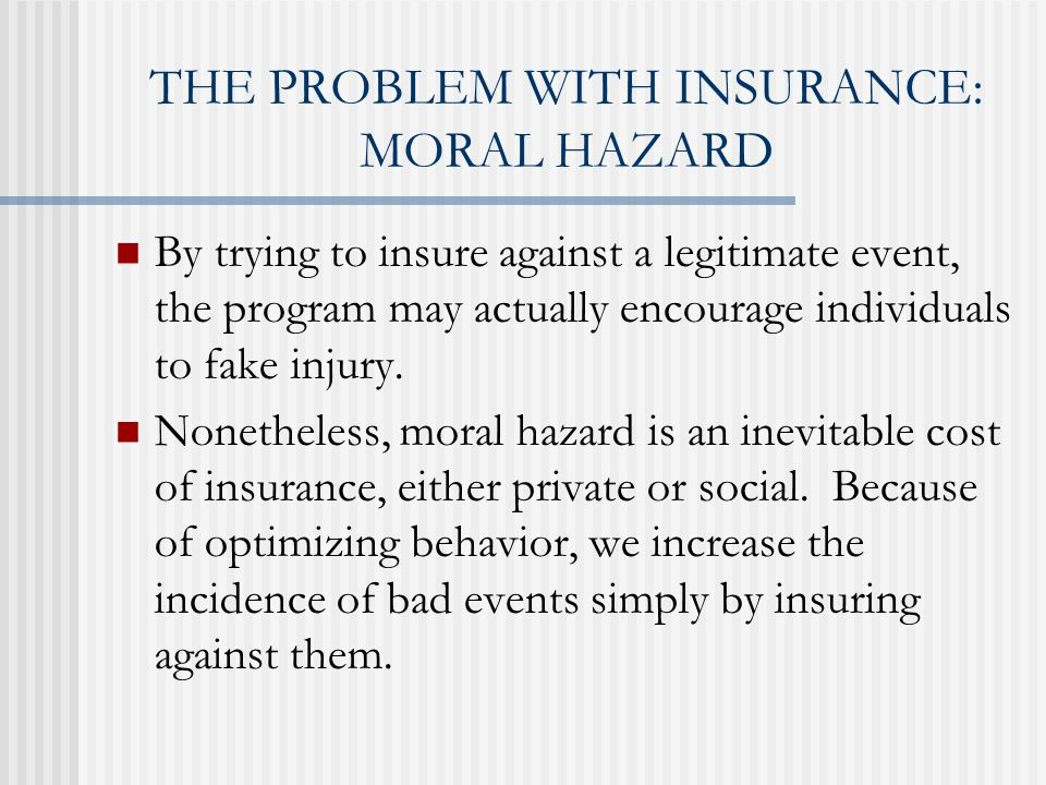 Social Insurance The New Function Of Government Chapter