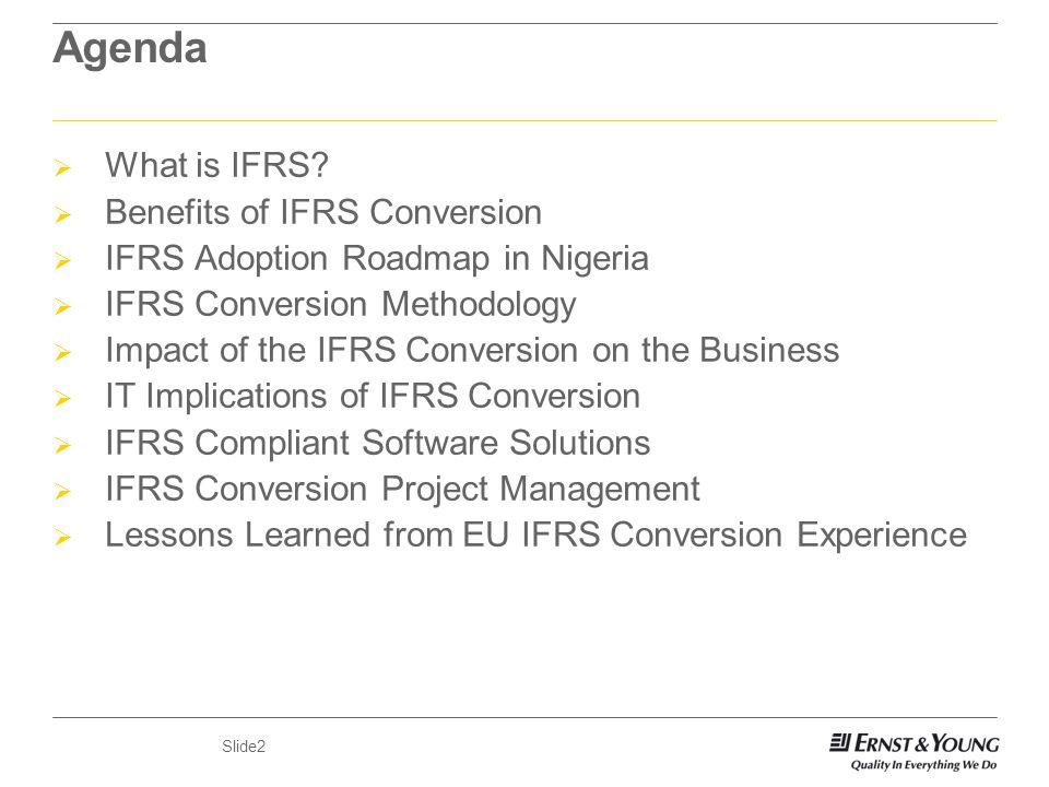 ifrs conversion template - implications of ifrs by dr martin ikpehai martin ey