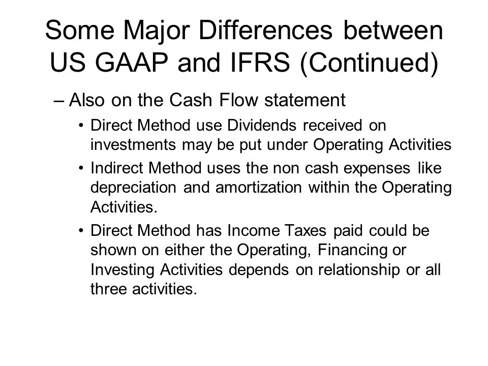 us gaap vs ifrs essay Compare ifrs and gaap anne e risley acc 290 oct 27, 2014 jammie janis ifrs versus gaap international financial reporting standards vs generally accepted.