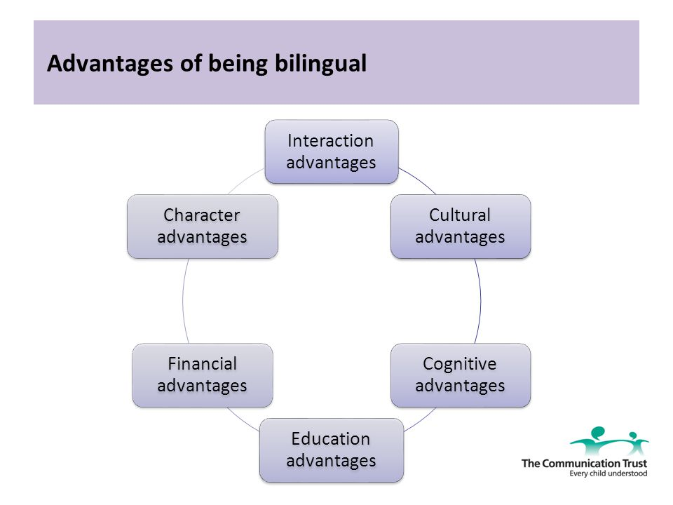 advantages of being bilingual How can the answer be improved.