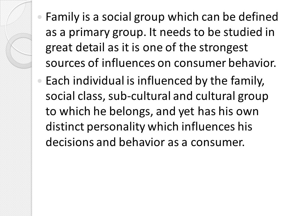 'a family can be defined as Defining the specialty  the specialty of family medicine is centered on lasting, caring relationships with patients and their families family physicians integrate the biological, clinical and behavioral sciences to provide continuing and comprehensive health care.