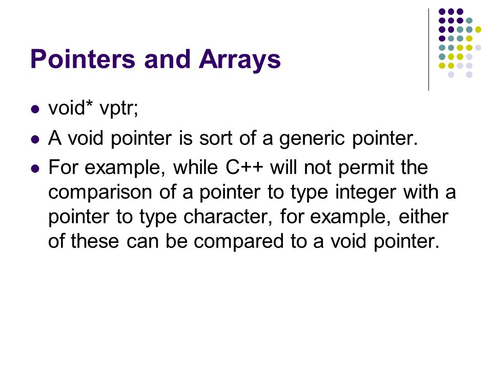 pointers and arrays relationship quiz
