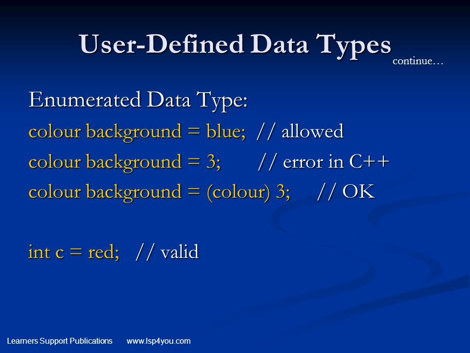 Data Types. - ppt download