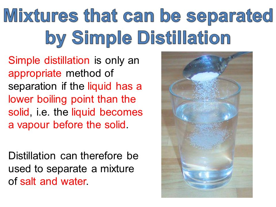 distilled water essay In this experiment, the objective was to observe the effects of some of the colligative properties of solutions the freezing points of distilled water and saltwater were measured, and found to both be about 0 °c.