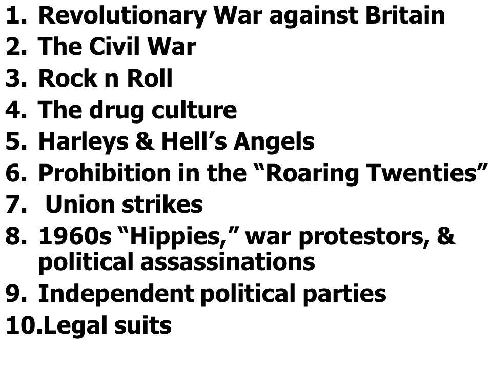 Revolutionary War against Britain