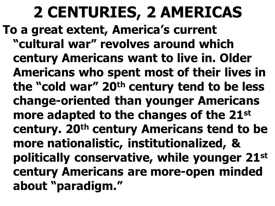 2 CENTURIES, 2 AMERICAS
