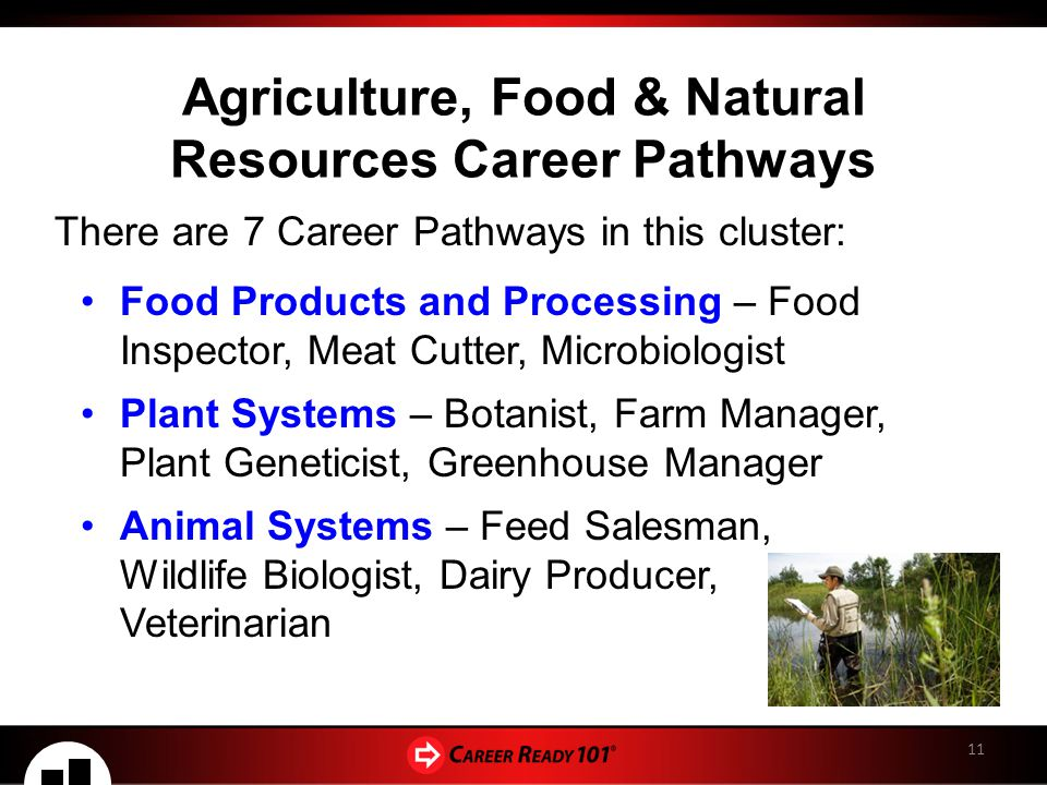 Agriculture Food Natural Resources Career Cluster