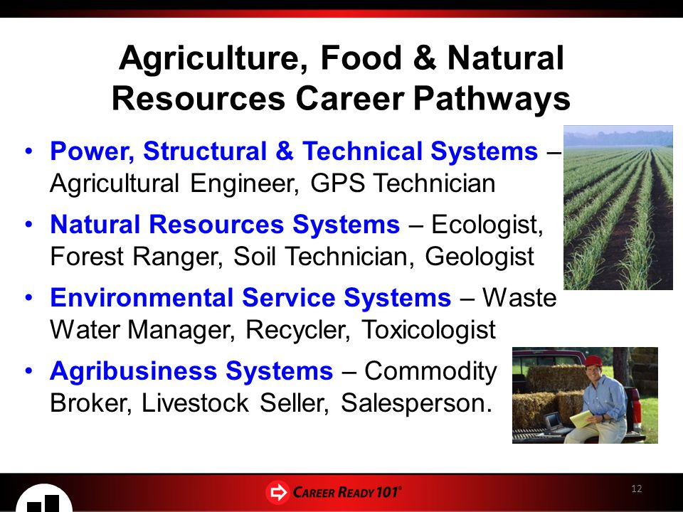 Agriculture Food And Natural Resources Career Pathways