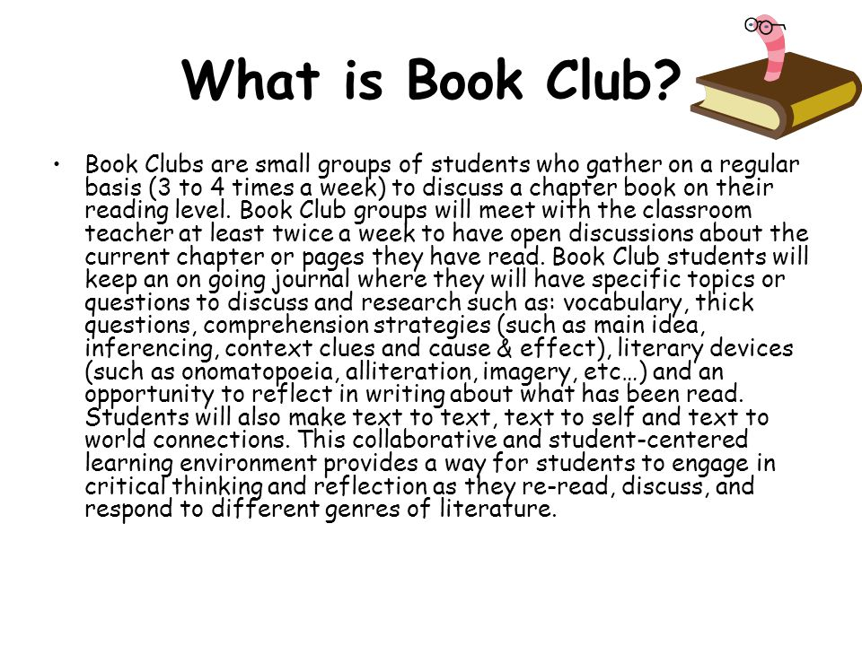 What is Book Club
