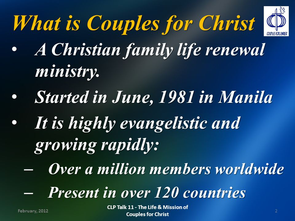 Christian Life Program - ppt video online download
