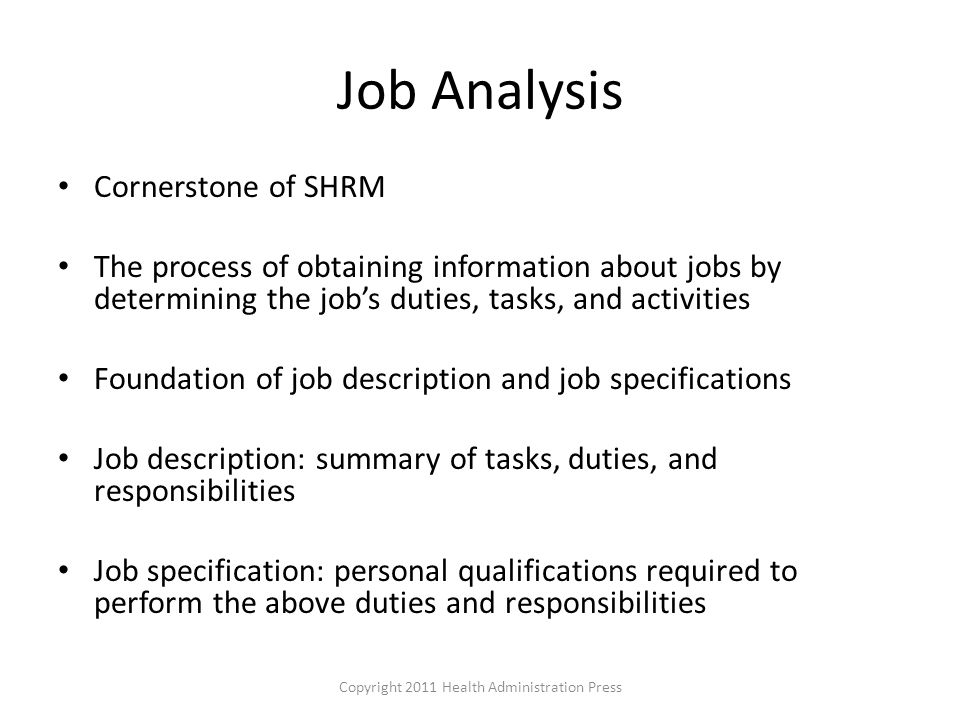chapter 4 job analysis and job design - ppt video online download, Human Body