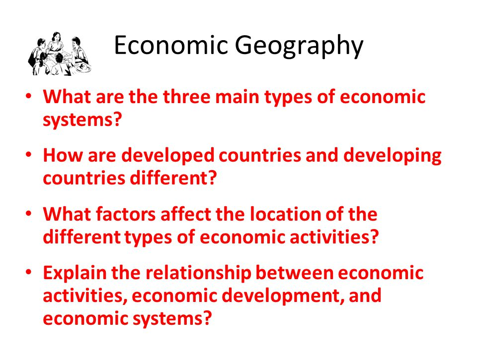 how do different economic systems affect Economic systems: planned, mixed, and market  to what extent do different economic systems affect quality of life social studies political & economic.