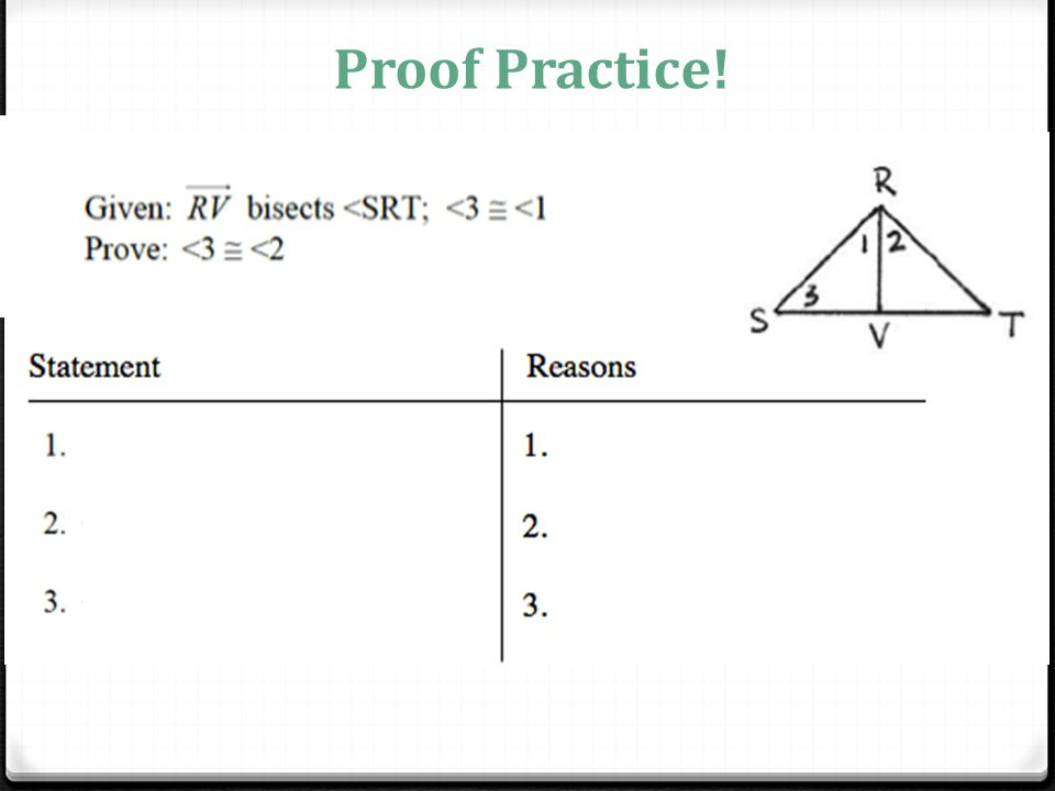 Proof Geometry Practice High School. Morning Geometry Pick Up U1l12 From The Side Shelf Ppt Rh Slideplayer. Worksheet. Introduction To Proofs Geometry Worksheet At Clickcart.co
