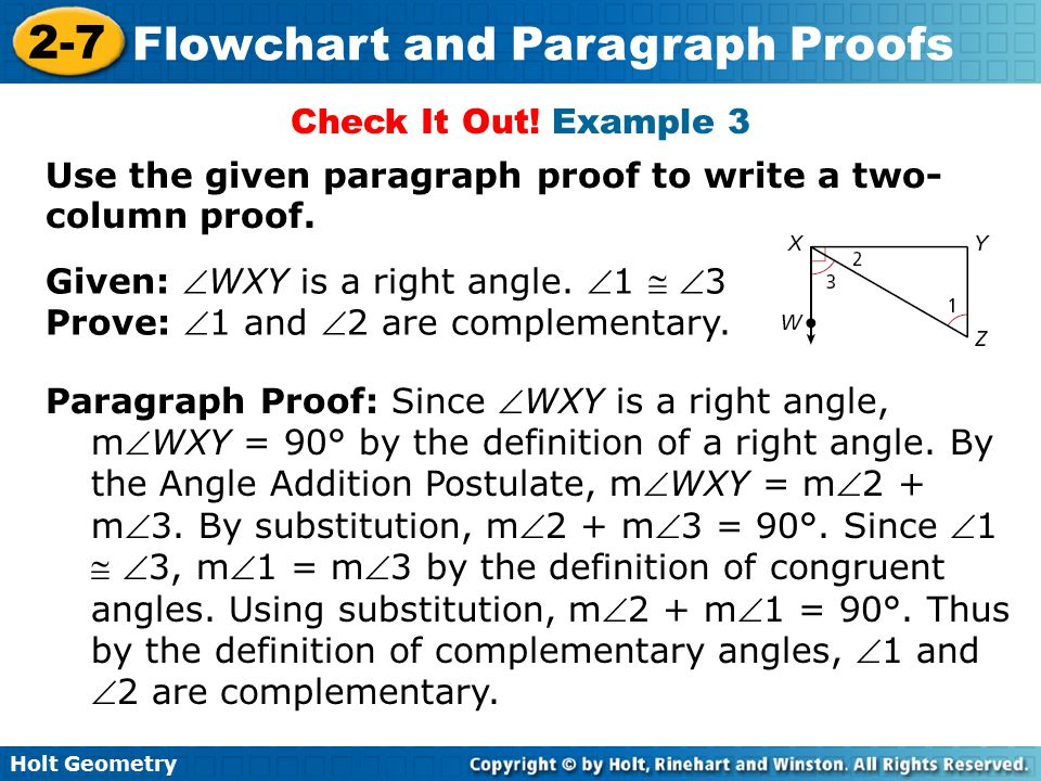 angle and complete sentences Two angles are complementary when they add up to 90 degrees (a right angle) they don't have to be next to each other, just so long as the total is 90 degrees examples: 60° and 30° are complementary angles 5° and 85° are complementary angles see: supplementary angles 55° + 35° = 90° complementary.