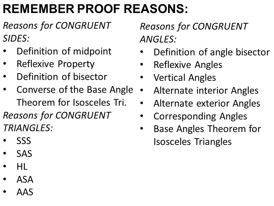 Remember Proof Reasons