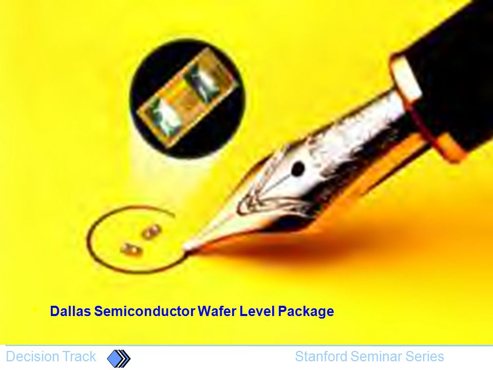 Dallas Semiconductor Wafer Level Package