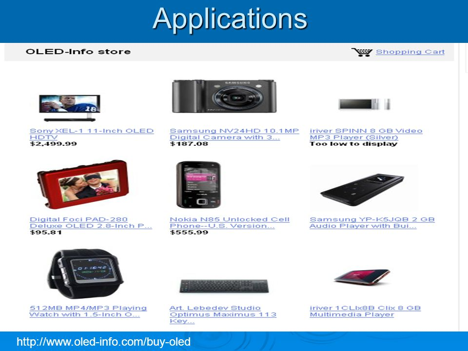 Oled Devices And Applications Ppt Video Online Download