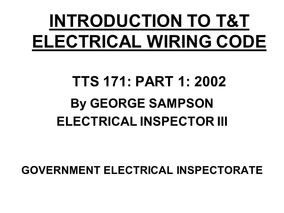 Electrical Wiring Codes  Rosloneknet