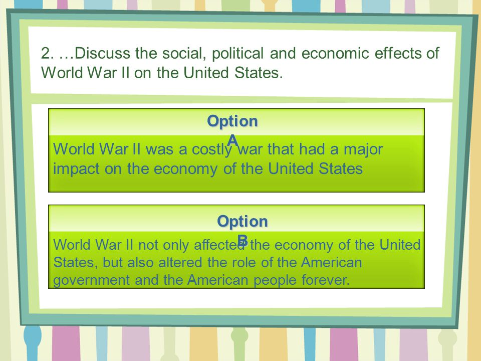 causes and effects of ww2