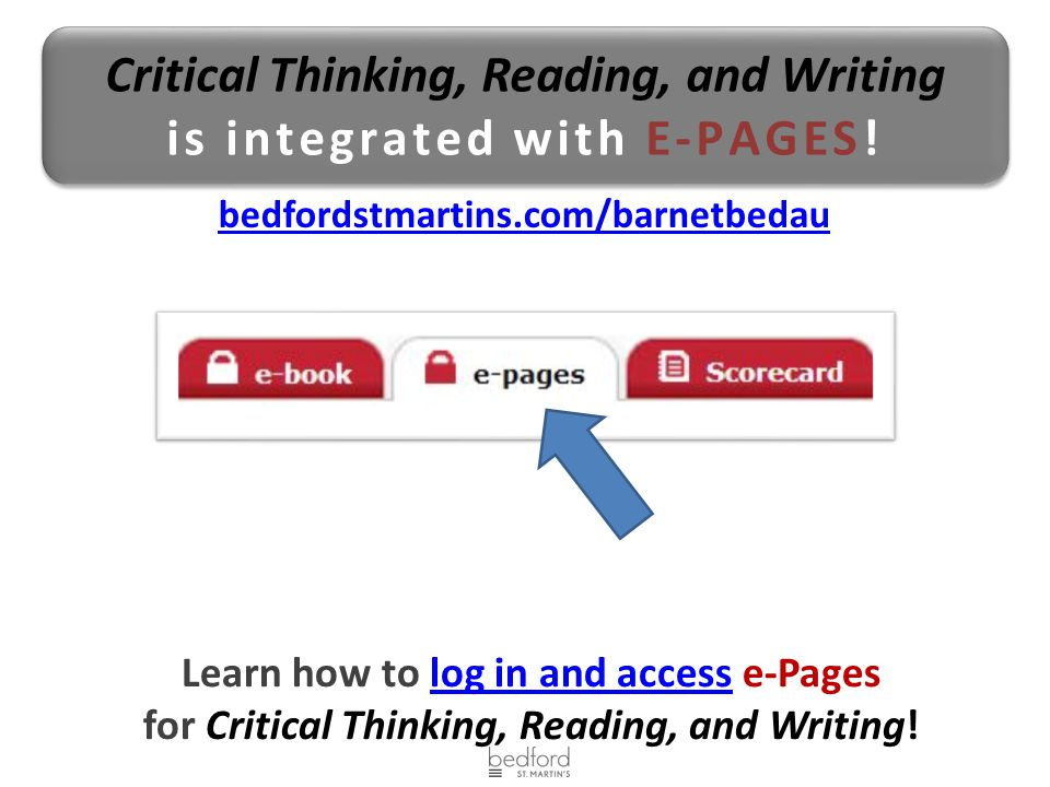 foundations critical thinking reading and writing online  · foundations critical thinking reading and writing online foundations: critical thinking reading and writing cdn [victor shea, william whitla.