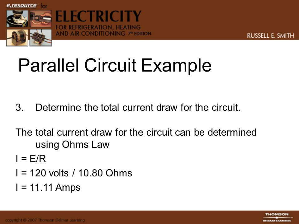 Parallel Circuit Example