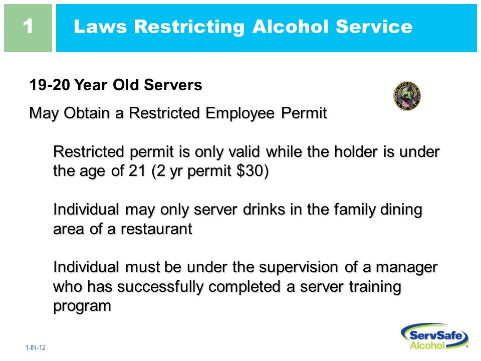 age restrictions on alcohol for military