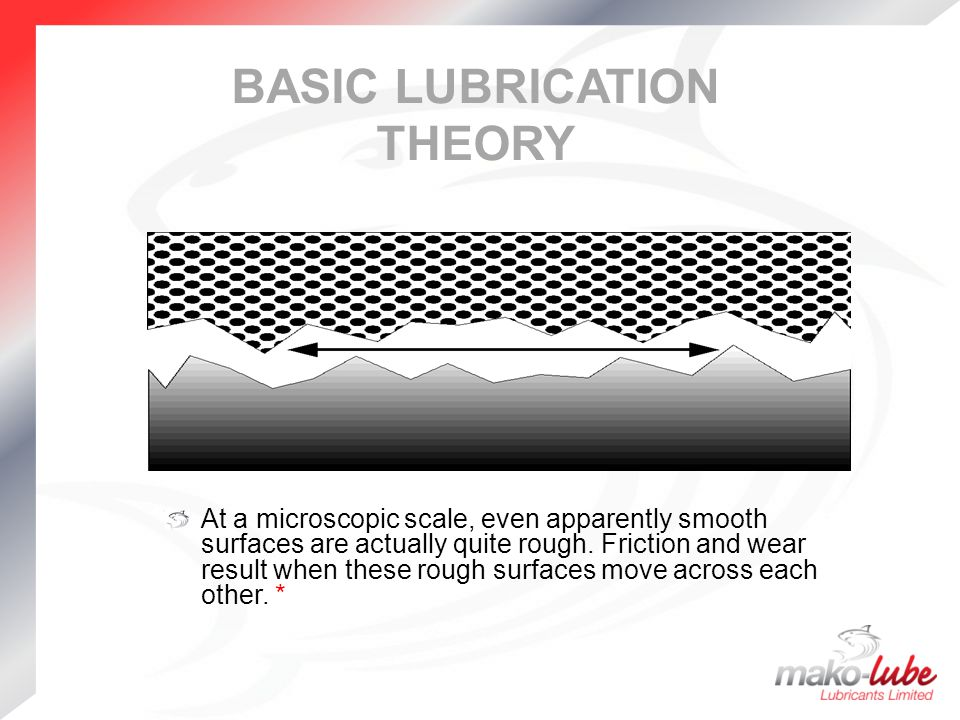 lubrication theory The lecture presents the derivation of the reynolds equation of classical  lubrication theory consider a liquid flowing through a thin film region separated  by two.