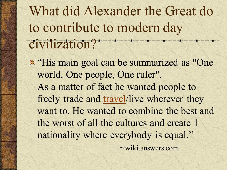 does alexander the great deserve his Alexander the great essaysalexander the great was truly a great man  alexander certainly does deserve the title of great no one.
