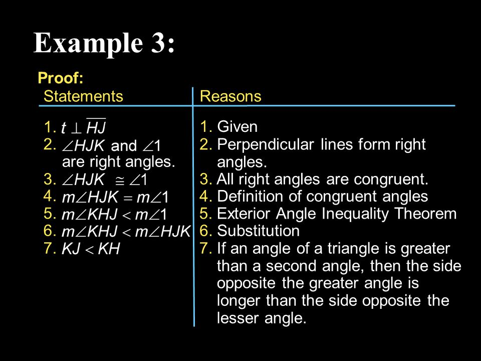 5 4 the triangle inequality ppt video online download - Exterior angle inequality theorem ...