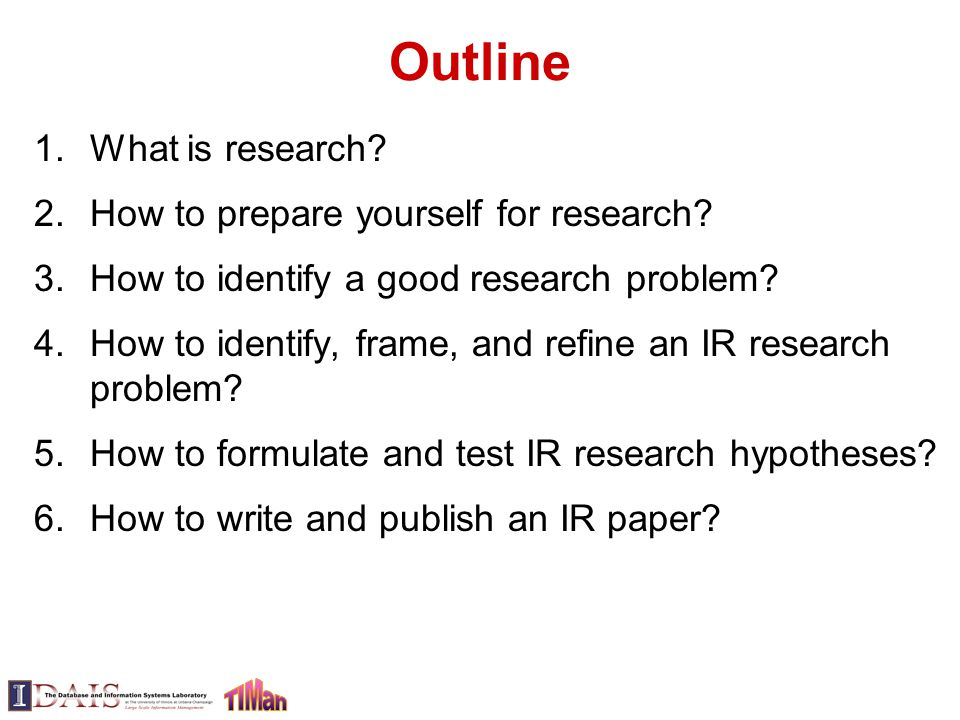 paper preparing research This page lists some of the stages involved in writing a library-based research paper although this list suggests that there is a simple, linear process to writing such a paper, the actual process of writing a research paper is often a messy and recursive one, so please use this outline as a.