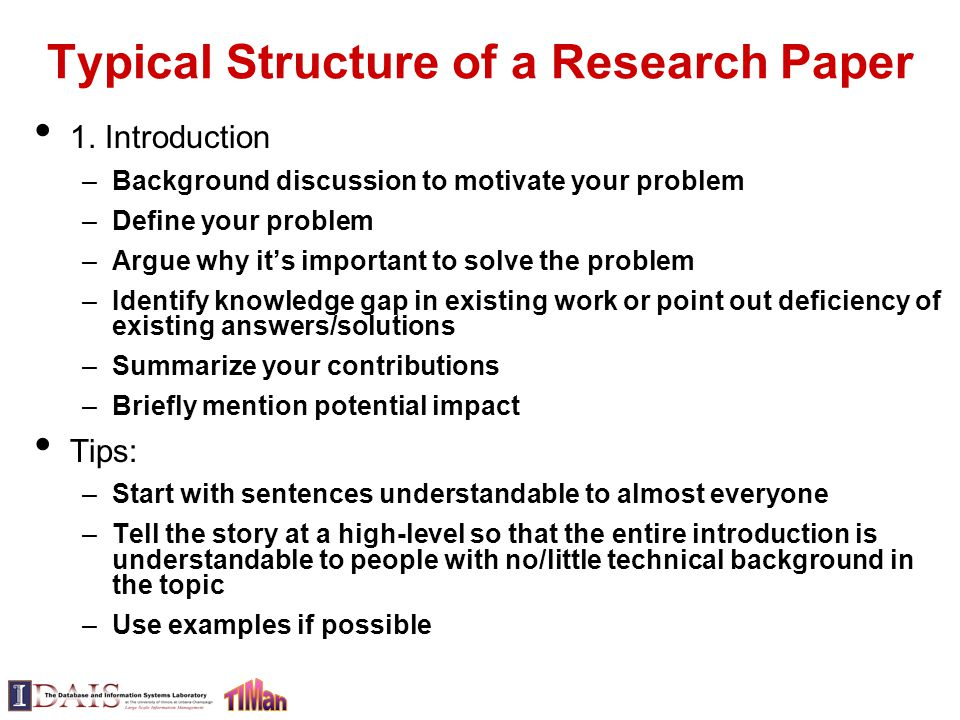 structure of research essay University of michigan the empirical research paper empirical research papers are used to express the results of structure for empirical social science.
