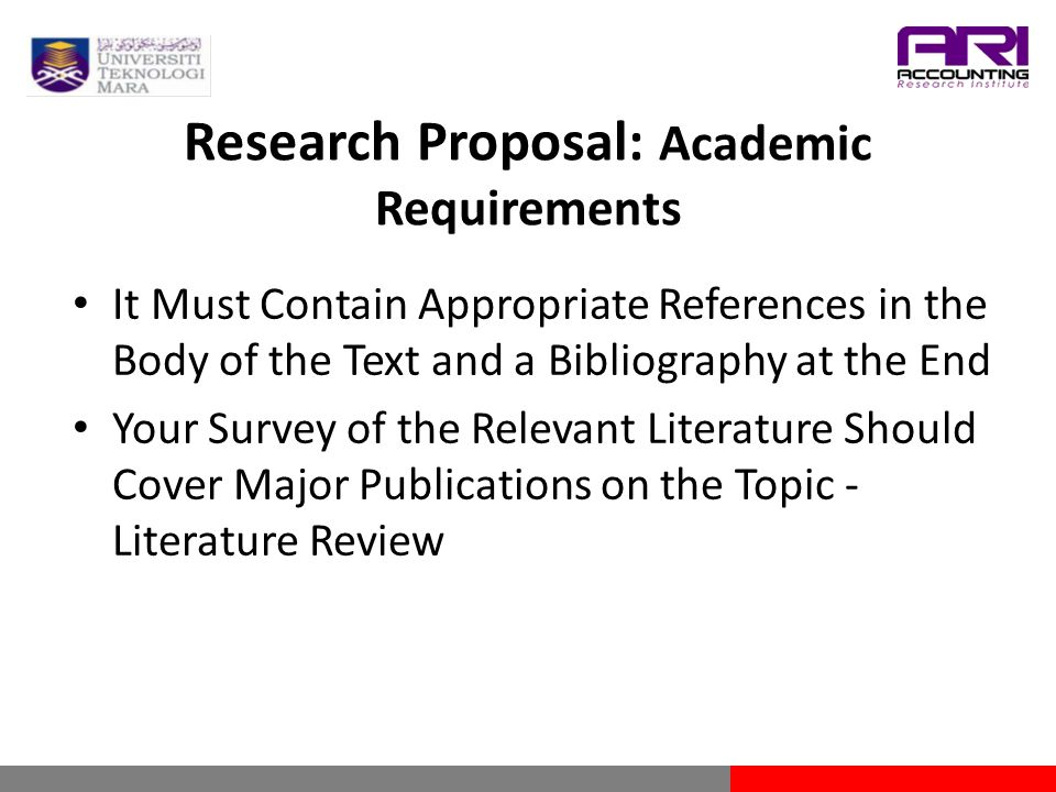 importance of literature review in research proposal development