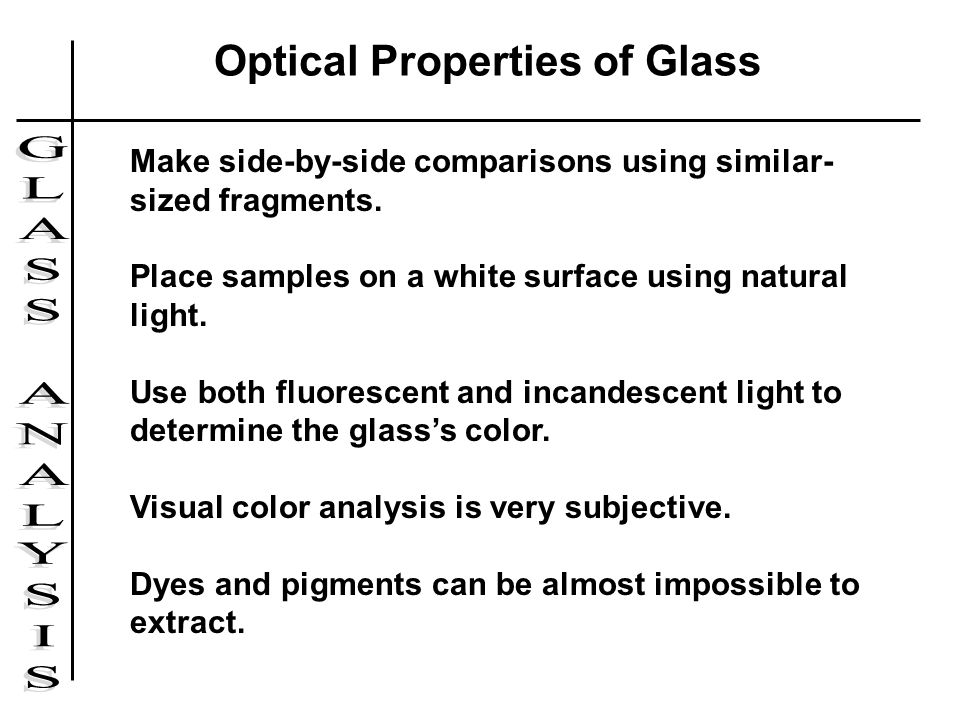 An analysis of the properties of light