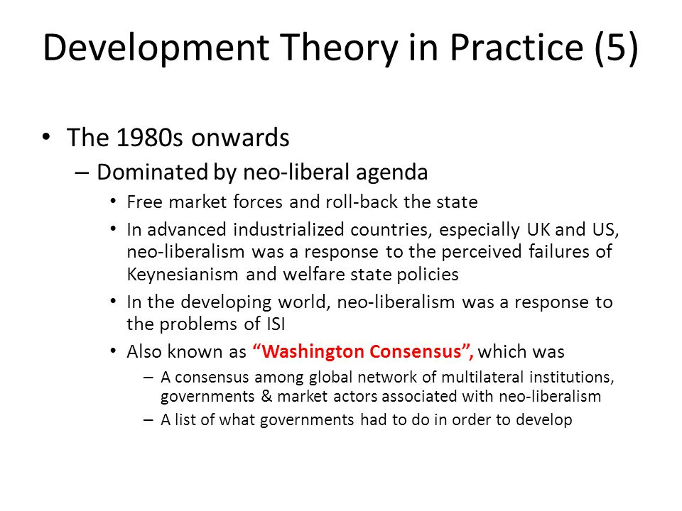 liberal perspective of development Children in conflict countries crisis from a realist and liberal perspective because they believe internal development is the key to.