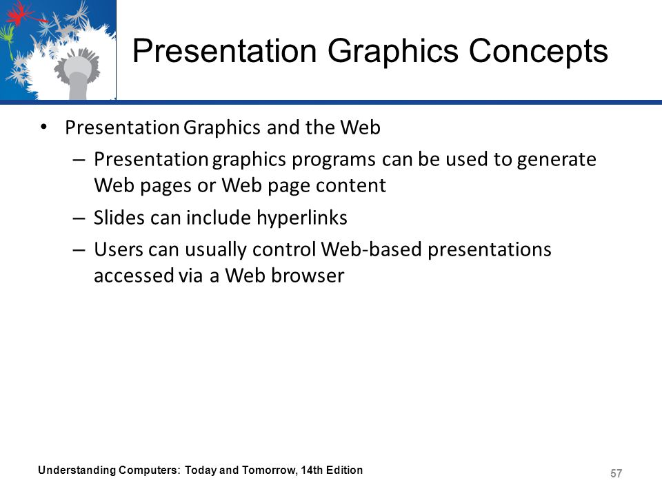 Presentation Graphics Concepts
