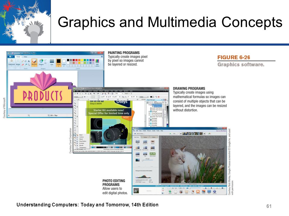 Graphics and Multimedia Concepts