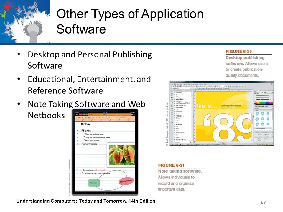 Other Types of Application Software