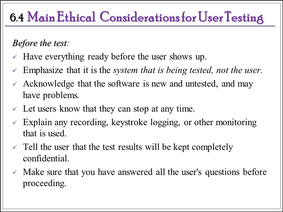 ethical consideration in psychological testing Assessment, as it relates to the field of psychology, serves an important function when working with others human beings by nature are intricately complicated, and assessment is a valuable tool that enables one to understand the many unique facets and ubiquitous dimensions of another individual carelessness or lack of.