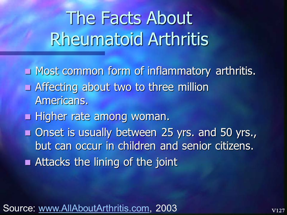 The Facts About Rheumatoid Arthritis