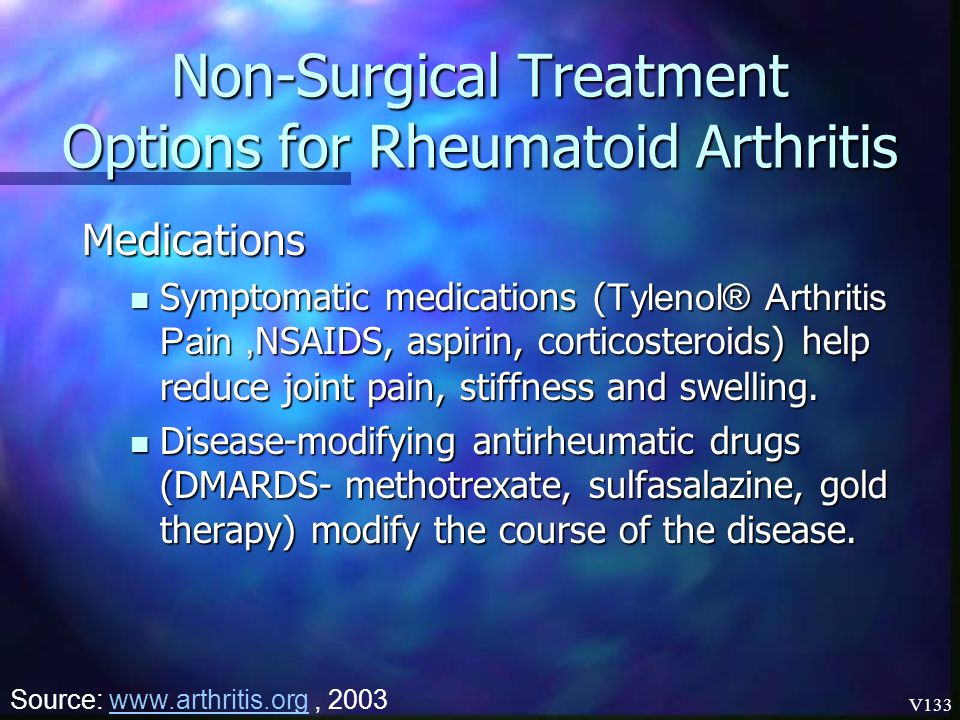 Non-Surgical Treatment Options for Rheumatoid Arthritis