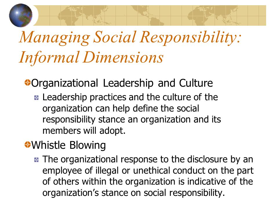 international management and ethics culture dimensions Ethics: it is the code of while the contextual dimensions define the structure the culture should aim at providing adequate the organizational culture is.